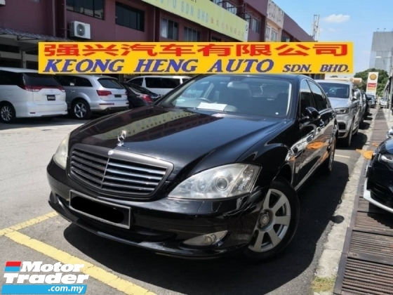 2007 MERCEDES-BENZ S-CLASS HARI RAYA SALES OFFER S300L Local TRUE YEAR MADE 2007 Long Base Sunroof Power Boot Vacuum Door
