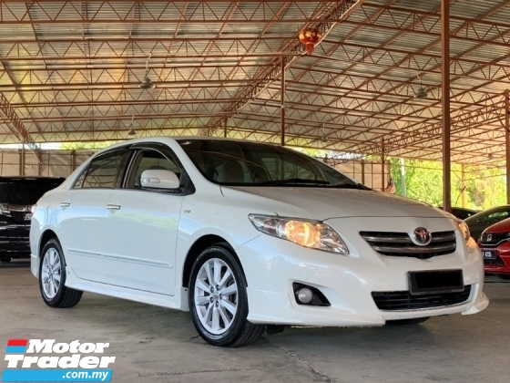 2010 TOYOTA ALTIS 1.8 G AUTO TIP TOP CONDITION
