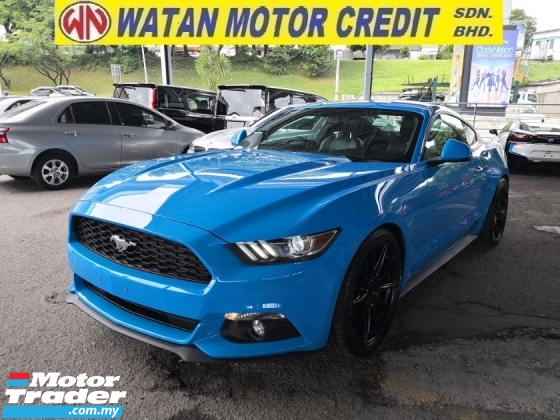 2018 FORD MUSTANG 2.3 Ecoboost Inc SST Unreg