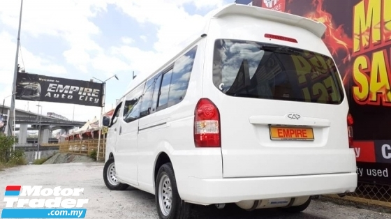 2017 CHERY TRANSCOM 2.0 (M) TURBO MPFI TCI H5 (H13) NGV !! PREMIUM 14 SEATERS WINDOW VAN !! NEW FACELIFT !! PREMIUM HIGH SPECS !! ( VX 2229 ) 1 CAREFUL OWNER !!