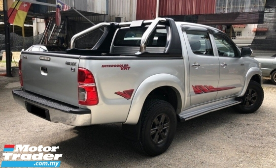 2013 TOYOTA HILUX DOUBLE CAB 2.5 G  VNT (AT)