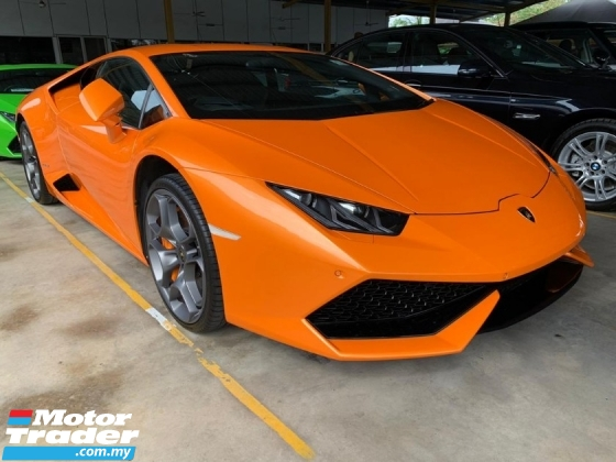 2017 LAMBORGHINI HURACAN 5.2 LP610-4 Coupe V10 Engine Unregister Doppia Frizione 7-speed dual clutch Reverse Camera Leather Bucket Seat Ceramic Brake LED Headlamp Price Negotiable