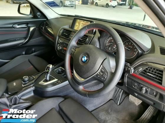 2017 BMW 1 SERIES 118I sport