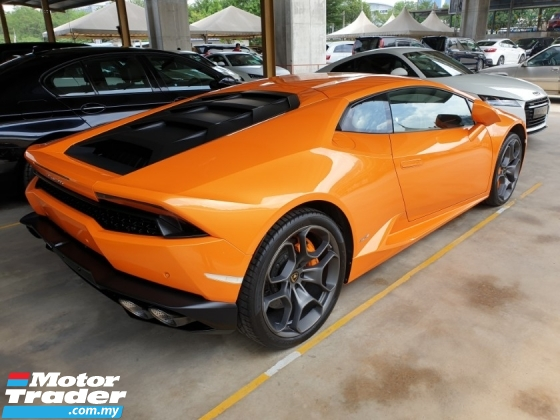 2017 LAMBORGHINI HURACAN 5.2  LP610-4 Coupe Lifter Local AP Unreg