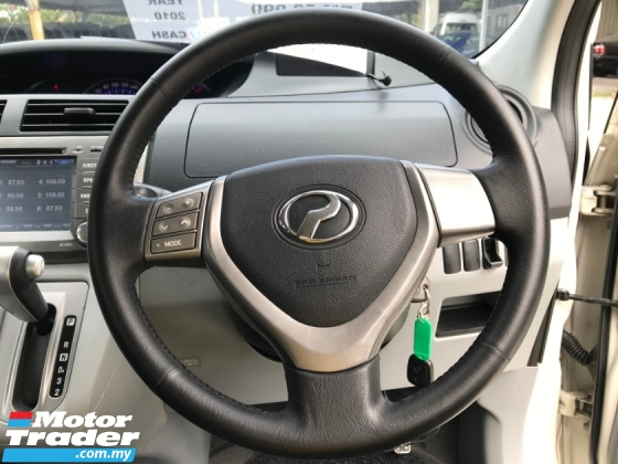 2010 PERODUA ALZA 1.5 EZI (A) FULL LEATHER SEAT