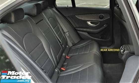 2016 MERCEDES-BENZ C-CLASS 2016 MERCEDES C180 1.6 AMG SPEC FROM JAPAN CAR SELLING PRICE ( RM 179000.00 NEGO )