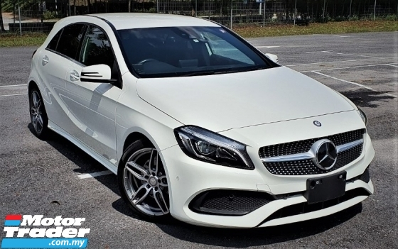 2017 MERCEDES-BENZ A-CLASS 2016 MERCEDES BENZ A180 AMG1.6 TURBO JAPAN SPEC CAR SELLING PRICE ONLY  RM 159000.00 NEGO