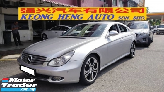 2006 MERCEDES-BENZ CLS-CLASS CLS350 3.5cc V6 (A) REG 2008, UK SPEC, CAREFUL OWNER, 100% ACCIDENT FREE, ORIGINAL CONDITION, WELL MAINTAIN, 18