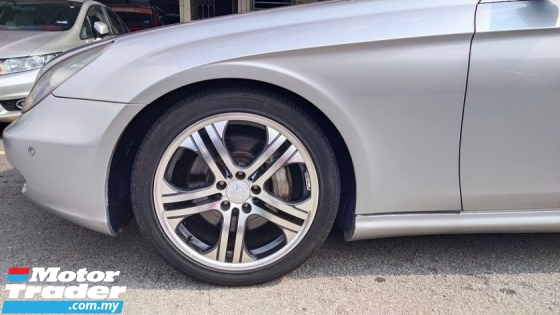 2006 MERCEDES-BENZ CLS-CLASS CLS350 3.5cc V6 (A) REG 2008, UK SPEC, CAREFUL OWNER, 100% ACCIDENT FREE, ORIGINAL CONDITION, WELL MAINTAIN, 18\