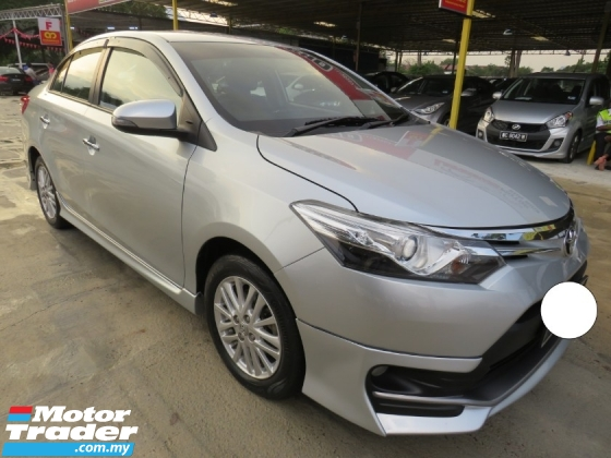 2017 TOYOTA VIOS 1.5G (AT) One Owner TRD Bodykit Leather Seat CD DVD Navi Player 100% Accident Free High Loan Tip Top Condition Must Buy