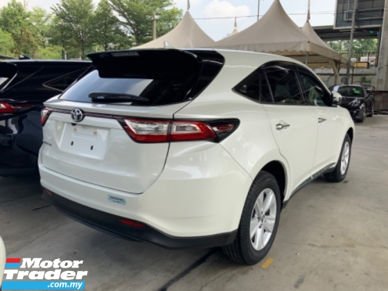 2018 TOYOTA HARRIER 2.0 surround camera power boot panoramic roof facelift model precrash system lane assist unreg
