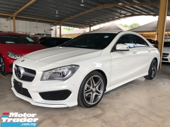 2016 MERCEDES-BENZ CLA CLA200 CLA180 AMG Sport Twin-Scroll Turbo 7G-Tronic Distronic PLUS Pre-Crash Smart Entry Push Start Button Intelligent Bi Xenon Lights Memory Bucket Seat Paddle Shift Steering AMG Body AMG Sport Rims AMG Suspension Bluetooth Unreg