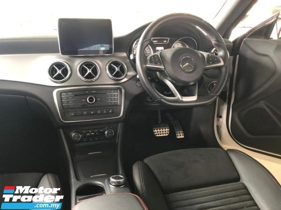 2016 MERCEDES-BENZ CLA CLA200 CLA180 AMG Sport Twin-Scroll Turbo 7G-Tronic Distronic PLUS Pre-Crash Smart Entry Push Start Button Intelligent Bi Xenon Lights Memory Bucket Seat Paddle Shift Steering AMG Body AMG Sport Rims AMG Suspension Bluetooth Unreg