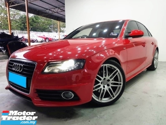 2009 AUDI A4 2.0 TURBO FACELIFT S LINE QUATTRO WARRANTY ONE YEAR