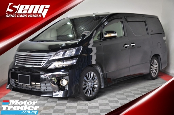 2014 TOYOTA VELLFIRE 2.4 GOLDEN EYES 63K-Mil ONLY !!!