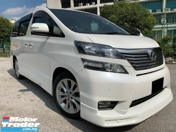 2010 TOYOTA VELLFIRE 2.4V 2 POWER DOOR POWER BOOT TIP TOP CONDITION