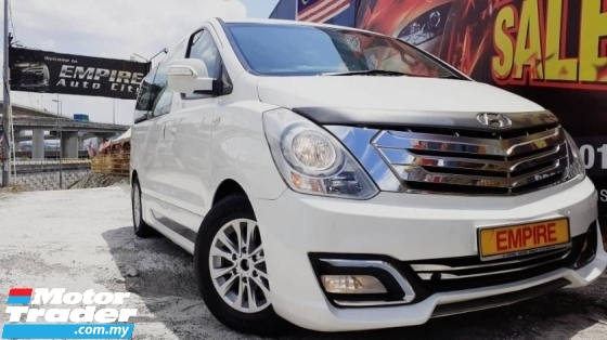 2015 HYUNDAI GRAND STAREX ROYALE 12 SEATERS MPV 2.5 (A) CRDI DIESEL TURBO !! PREMIUM FULL LIMITED EXECUTIVE EDITION !! NEW FACELIFT !! PREMIUM MPV FULL HIGH SPECS !! ( AXX 6161 ) 1 CAREFUL OWNER !!