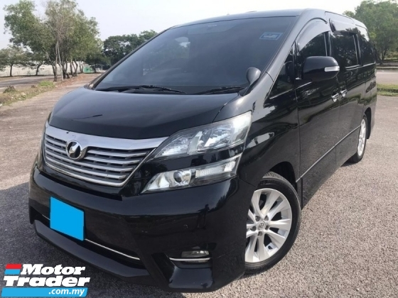 2009 TOYOTA VELLFIRE 2.4 ZP  SUNROOF MOON ROOF HOME THEATER 7SEAT REVERSE CAMERA
