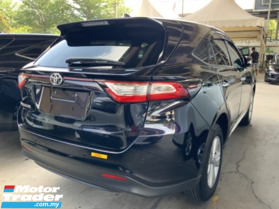 2017 TOYOTA HARRIER 2.0 panoramic roof 4 camera power boot facelift precrash system lane assist unregistered