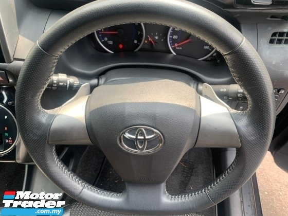 2015 TOYOTA WISH 1.8 S SPEC (BIG OFFER PRICE  WITH SST)PUSH START HALF LEATHER PADDLE SHIFT UNREG 1 YEAR WARRANTY