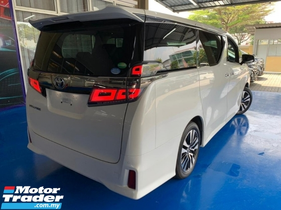 2018 TOYOTA VELLFIRE 2.5ZG FREE 5 YEARS WARRANTY