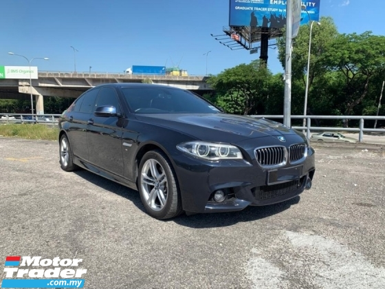 2017 BMW 5 SERIES 520I M-SPROT FACELIFT WARRANTY TO 2022 DIGITAL SPORT METER