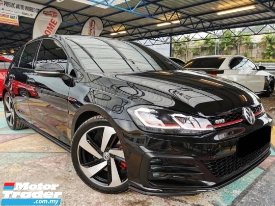2018 VOLKSWAGEN GOLF Volkswagen GOLF GTI 2.0 F/LIFT DIGITAL METER WRNTY