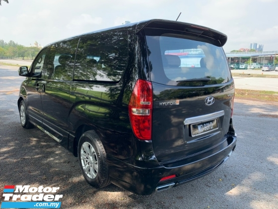 2017 HYUNDAI GRAND STAREX 2.5 Royale Premium (A) Facelift Model Nappa Leather Seat 1 Power Door Original Paint View to Confirm