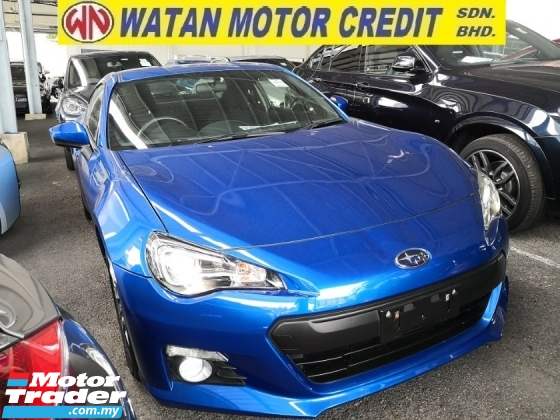 2016 SUBARU BRZ 2.0 Inc SST Japan Unreg