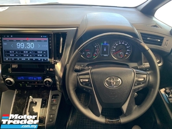 2017 TOYOTA VELLFIRE 2.5 ZA Golden Eyes Edition Unregister Android Player Alpine Roof Monitor Power Boot Twin Sunroof PCS Price Negotiable