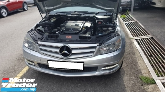 2010 MERCEDES-BENZ C-CLASS C250 CGI AVANTGARDE (A) REG 2011, ONE CAREFUL OWNER, LOW MILEAGE DONE 95K KM, 100% ACCIDENT FREE, 17\