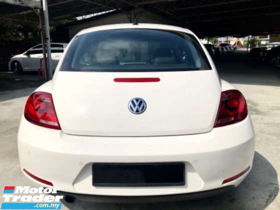 2014 VOLKSWAGEN BEETLE 1.2 T (A) FACELIFT SPORT EDITION 1 LADY OWNER
