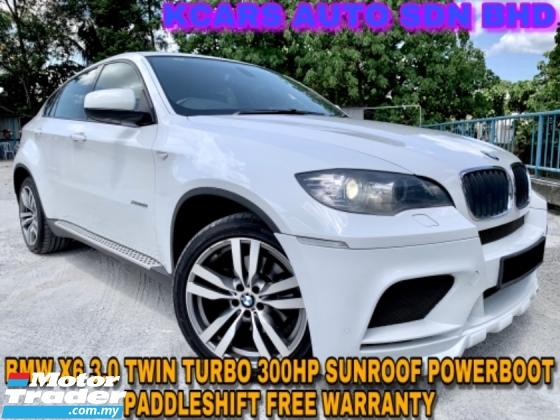 2012 BMW X6 XDRIVE 35I SUNROOF POWERBOOT FREE WARRANTY