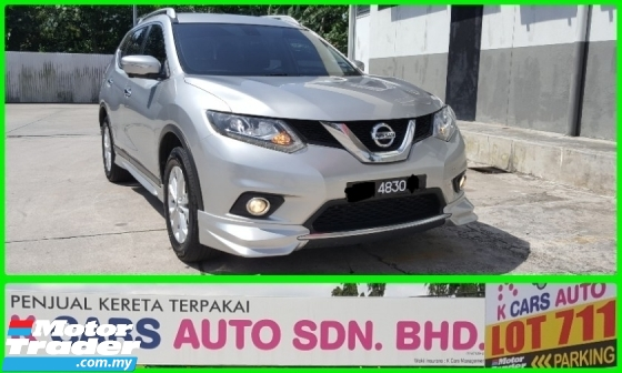 2017 NISSAN X-TRAIL 2.5 IMPUL 4WD FACELIFT 7 Seater SUV Low Mileage Excellent Condition Accident Free No Repair Need Worth Buy