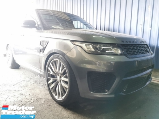 2015 LAND ROVER RANGE ROVER SPORT SVR 5.0 / TIPTOP CONDITION FROM UK / READY STOCK OFFER
