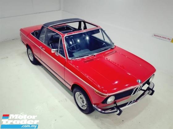 1975 BMW 2 SERIES 2002 BAUR TARGA MANUAL RHD