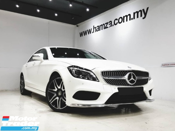 2016 MERCEDES-BENZ CLS-CLASS 400 AMG LINE DIAMOND WHITE UNREGISTERED