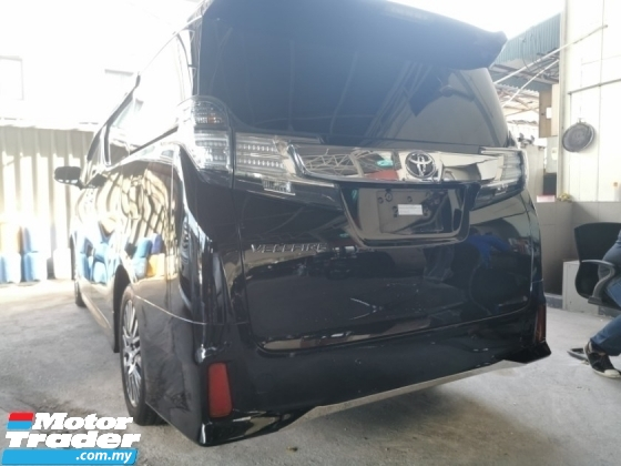 2016 TOYOTA VELLFIRE 2.5 ZG / TIPTOP CONDITION OFFER STOCK / 5 YEARS WARRANTY UNLIMITED KM