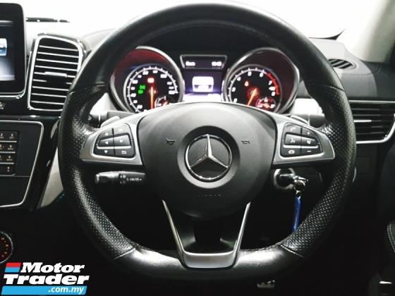 2017 MERCEDES-BENZ GLE MERCEDES BENZ GLE 43 AMG 3.0 V6 BI-TURBO 2017