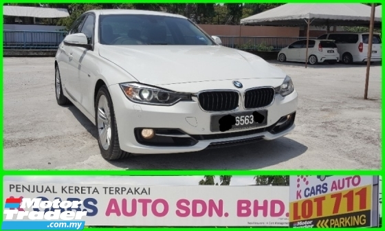 2016 BMW 3 SERIES 320i F30 2.0 Sport Line FACELIFT Full Service History Original Paint Guarantee Accident Free Not Repair Need Free 1 Year Warranty Worth Buy