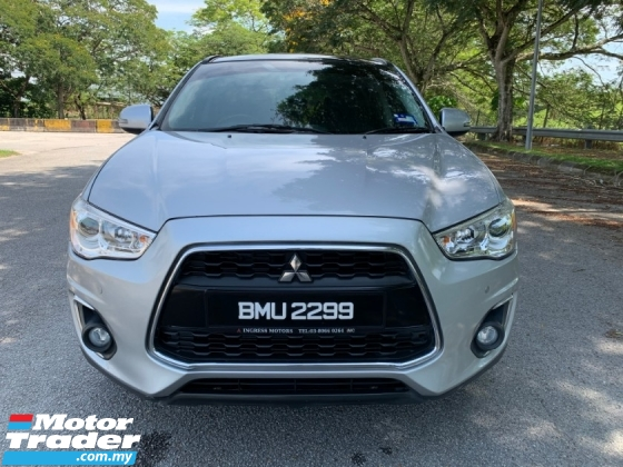 2016 MITSUBISHI ASX 2.0 SUV (A) 4WD Full Service Record 1 Lady Owner Only TipTop Condition View to Confirm