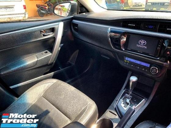 2015 TOYOTA COROLLA ALTIS 2015 Toyota Corolla Altis 1.8 G PERCUMA CASH 1K+2
