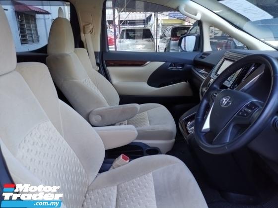 2017 TOYOTA VELLFIRE Toyota Vellfire 2.5 X specs with Modelista bodykit