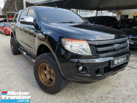 2015 FORD RANGER 2.2 XLT TDCI 4X4 DOUBLE CAB NVR OFF ROAD ACCIDENT