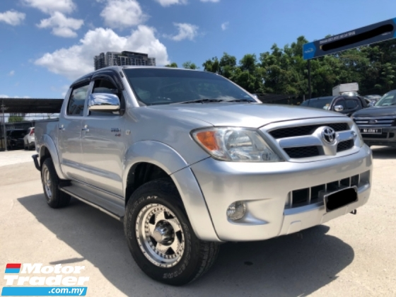2005 TOYOTA HILUX DOUBLE CAB 2.5G (AT), 1 Owner, No Off-road,