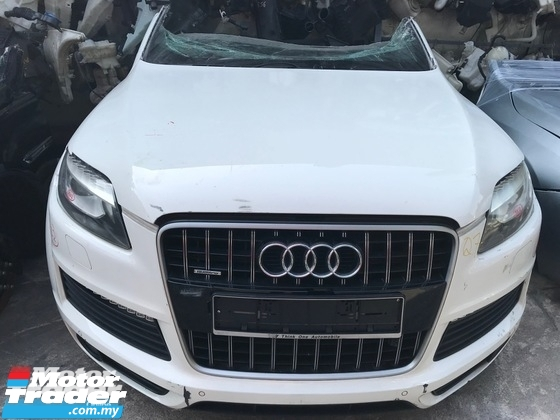 Audi Q7 HALFCUT HALF CUT NEW USED RECOND AUTO CAR SPARE PART MALAYSIA