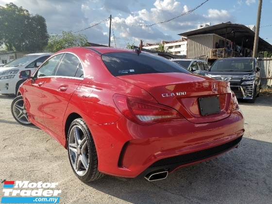 2015 MERCEDES-BENZ CLA 180 1.6 AMG JAPAN SPEC UNREG