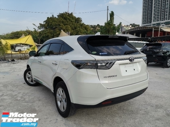 2015 TOYOTA HARRIER 2.0 Elegance SUV ALPINE MONITOR UNREG