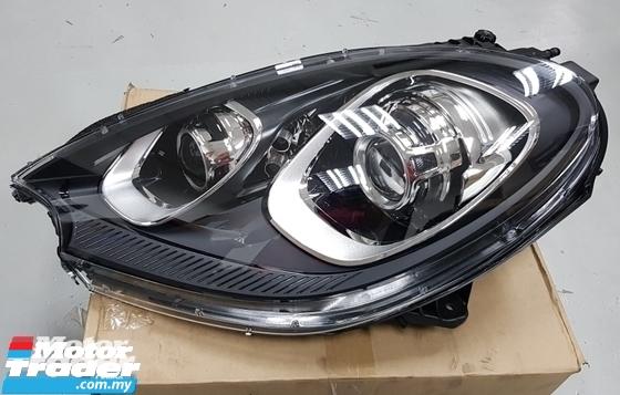 Porsche Macan HEAD LAMP NEW USED RECOND CAR PARTS SPARE PARTS AUTO PART HALF CUT HALFCUT GEARBOX TRANSMISSION PORSCHE MALAYSIA
