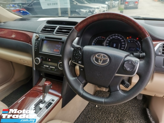 2013 TOYOTA CAMRY 2.5G Auto FULL SPEC ONE ONWER CITY DRIV ONLY FREE ACCIDENT